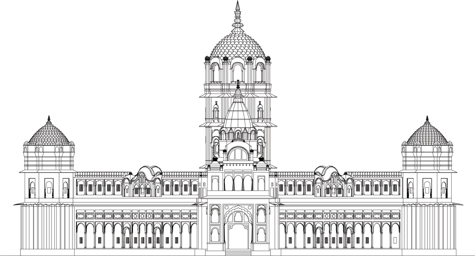 Laxmi Narayan Temple  Orchha  Documentation of monuments for INTACH  New  Delhi Architecture  Laxmi Narayan Temple  Orchha  Documentation of  . Indian Temple Architecture Pdf. Home Design Ideas