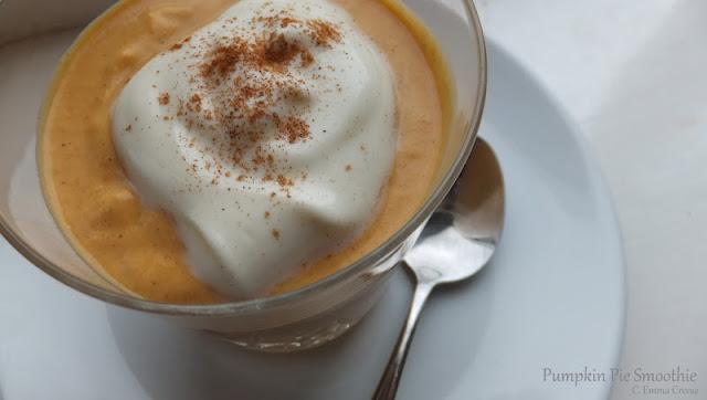 Pumpkin Pie Smoothies brunch recipe