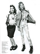 The SS12 Punk Girl. Jalouse Magazine, perfectly capturing the House of .