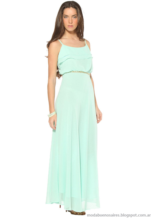 Vestidos verano 2014 moda 2014 vestidos largos.