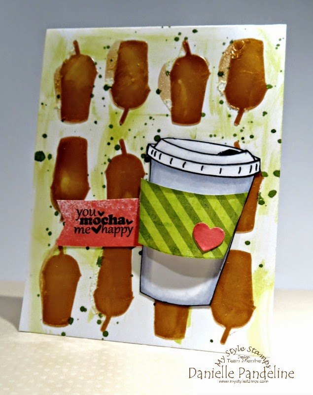 Coffee Card | Featuring My Style Stamps | Created by Danielle Pandeline