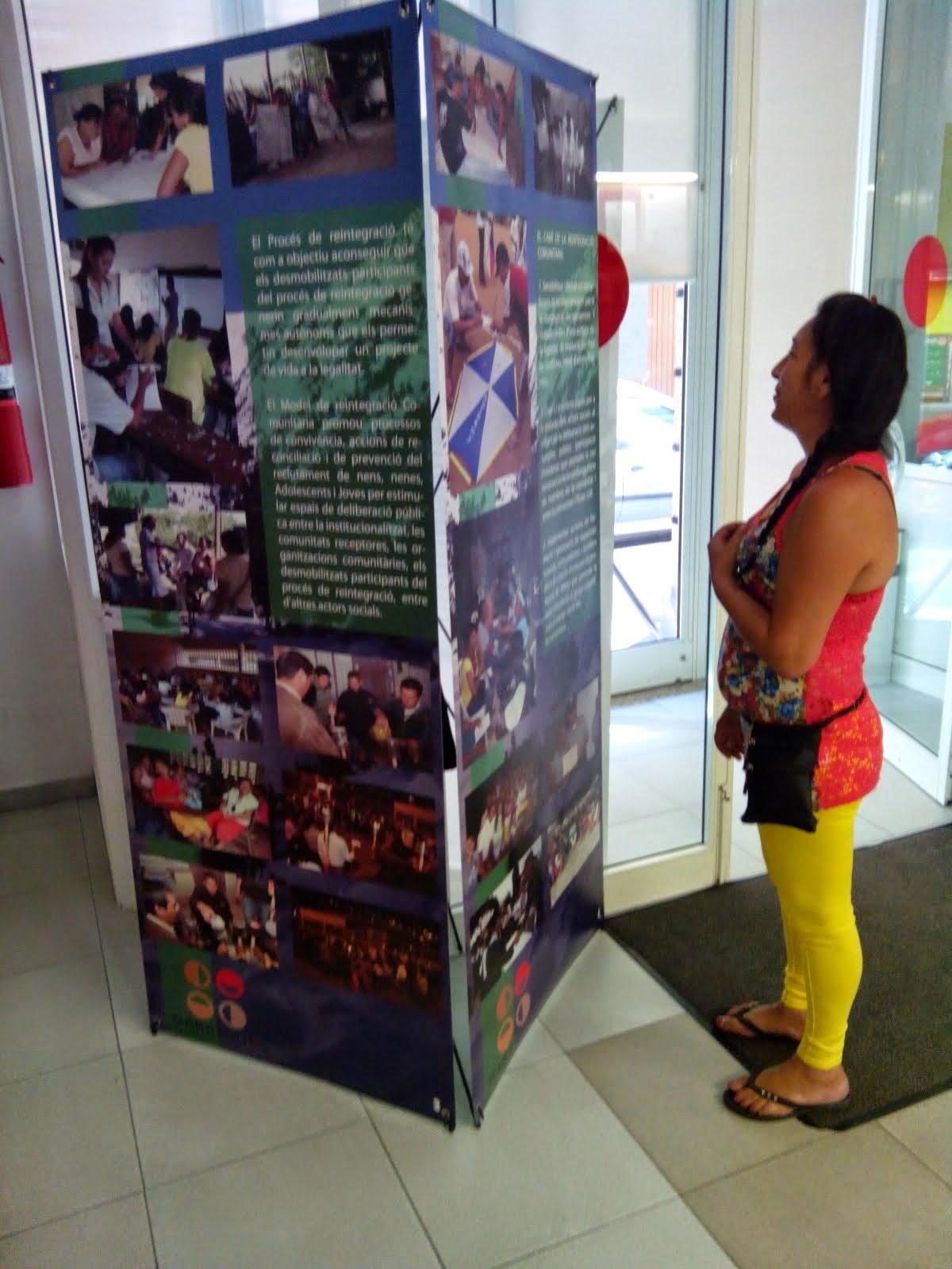 La Pau a Colòmbia, al centre cívic de Cappont