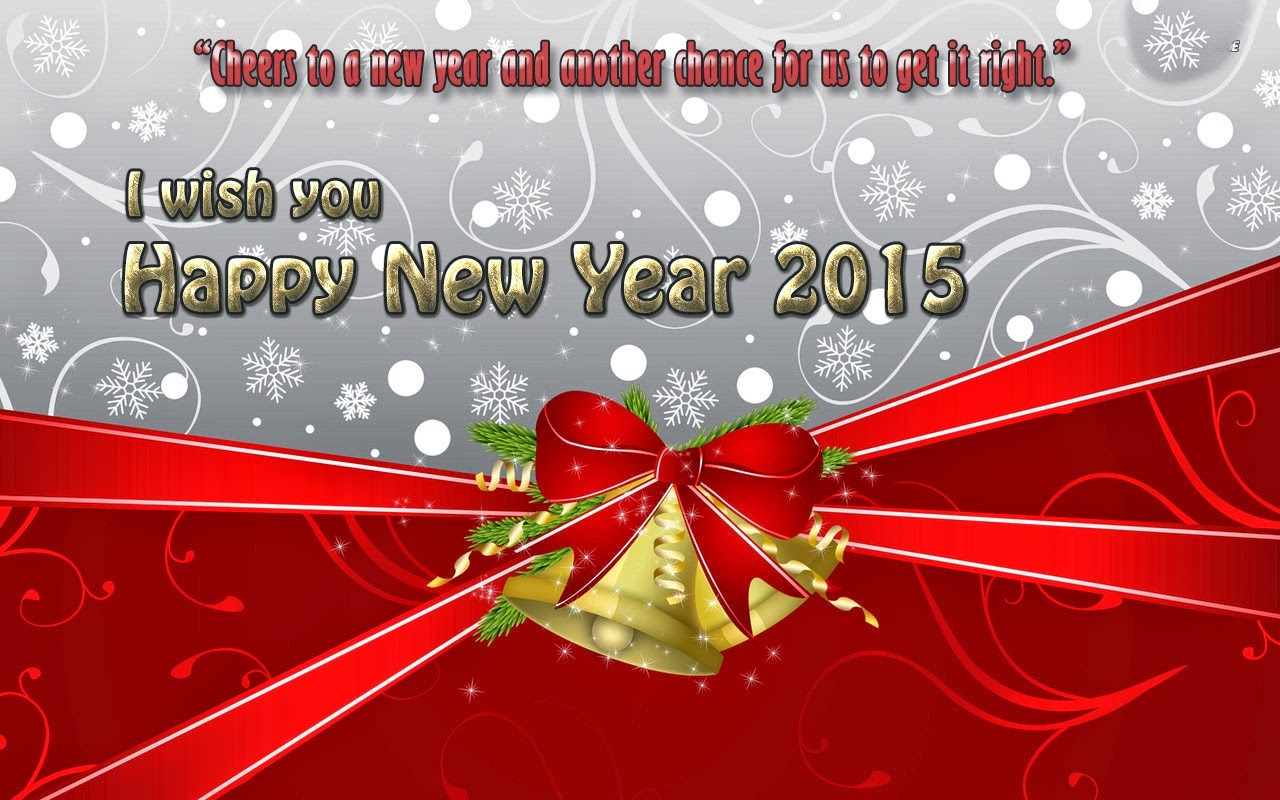 Lovely Happy New Year Wishes Holiday Cards 2015