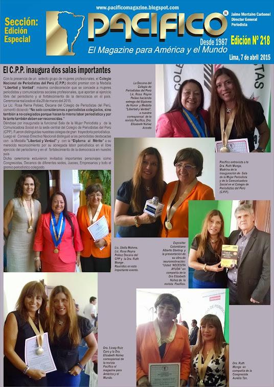 Revista Pacífico Nº 218 Edición Especial