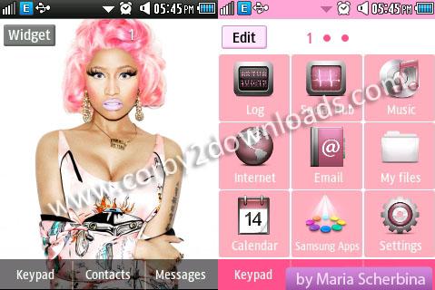Nicki Minaj Sexy Themes for Windows 7