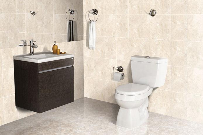 kamar mandi nuansa putih: Desain kamar mandi warna putih