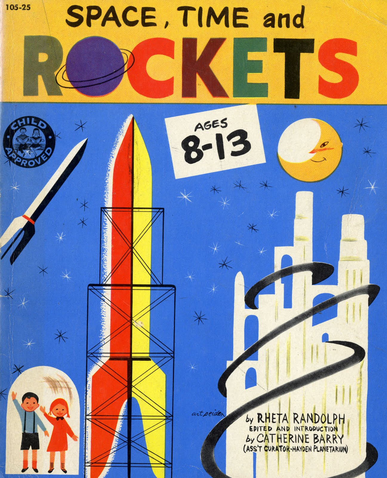 space rocket book - photo #2