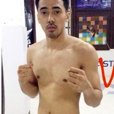 Mario Satya Wirawan Shirtless sixpack