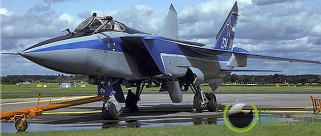 MiG-31 Foxhound – Mach 2.83