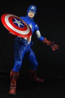 NECA Avengers 1/4 scale Captain America figure