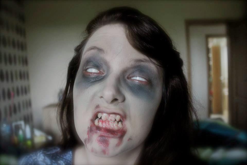 maquillage zombie teint