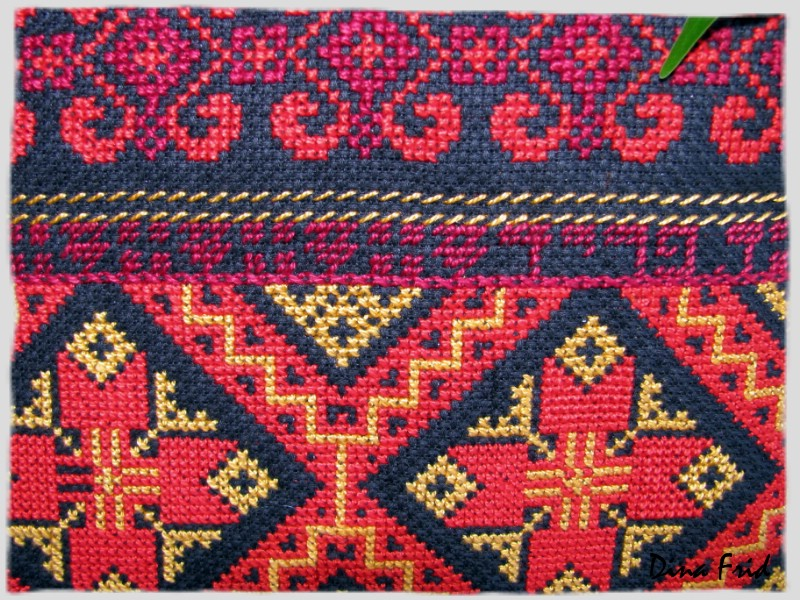Армянские узоры вышивка 4