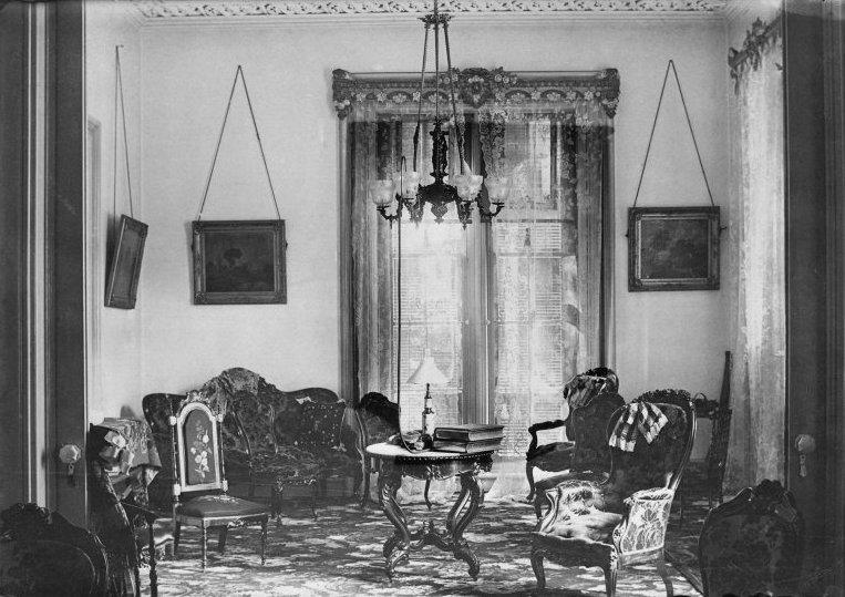 Colonel Robert James Milligan House, Saratoga Springs, New York.  Photograph, C.1880 1900. Brooklyn Museum Of Art, Brooklyn, NY