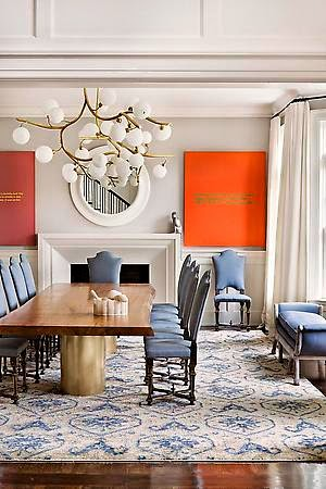 A Monochromatic Apartment Designed by Julie Hillman