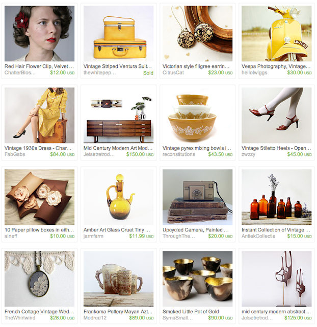 End of Summer gift guide on Etsy #travel #summer #vintage
