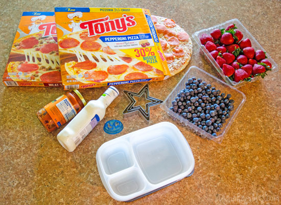 Pizza Stars Bento Supplies - #BigPizzeriaTaste #Pmedia #ad
