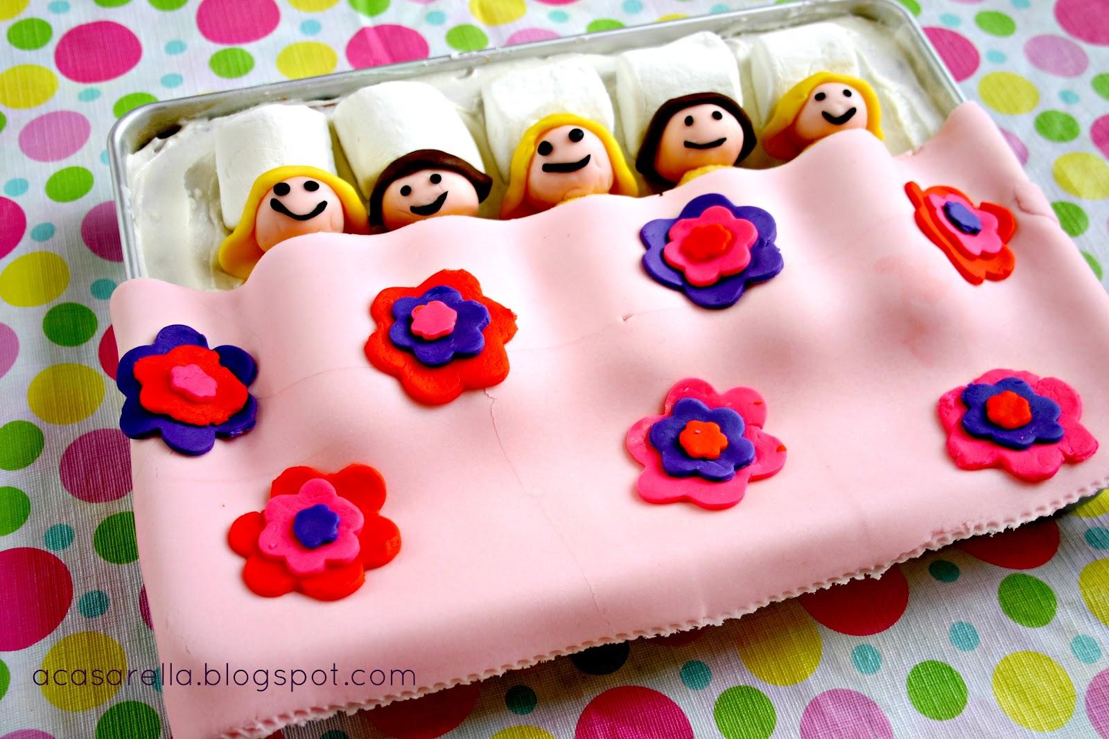 Slumber Party Birthday Cake A Casarella