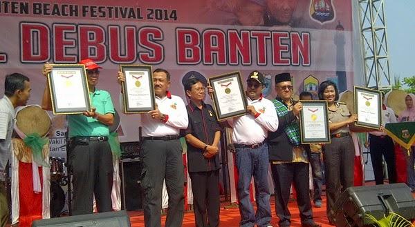 Festival Debus Banten 2014 Sukses Pecahkan Rekor MURI