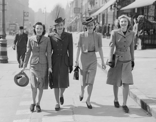 1940s street looks, Imperial War Museum