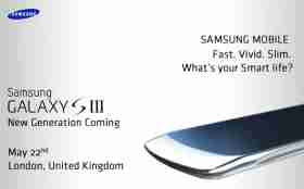 New Samsung Galaxy S 3