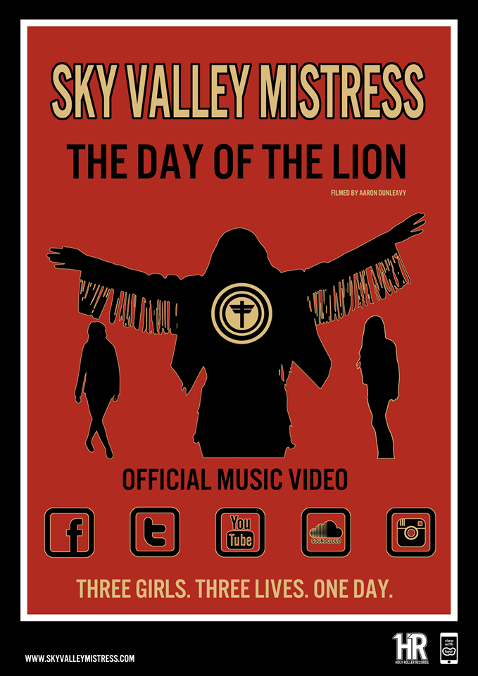 Sky Valley Mistress announce Winter Tour and release video The Day Of The Lion