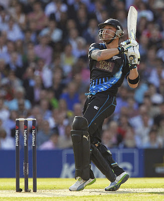 Brendon McCullum fastest fifty