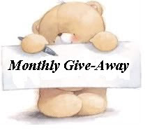 MONTHLY CANDY GIVE-AWAY, ENDS 31st APRIL...CLICK HERE TO ENTER