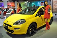 Fiat Punto 2012 jaune