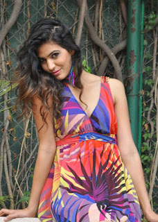 Parun Indian Model Parun in Sizzling Transparent Mini Gown Lovely Pictureshoot