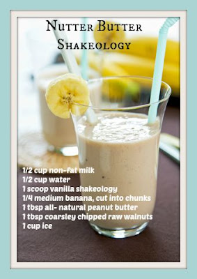 Nutter Butter Vanilla Shakeology Recipe