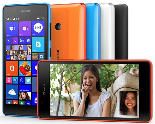 Harga Microsoft Lumia 540 Dual SIM, Ponsel Windows Phone Layar 5 inch