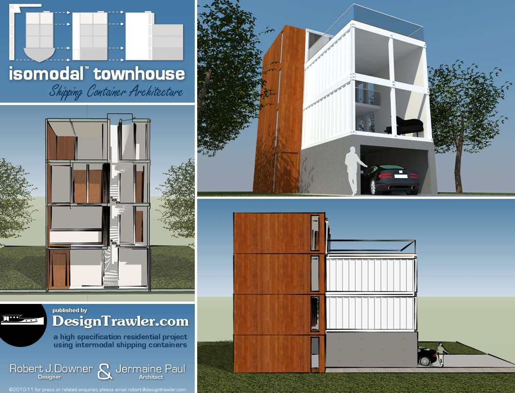 Design Trawleru0027s Container Townhouse For The BBC