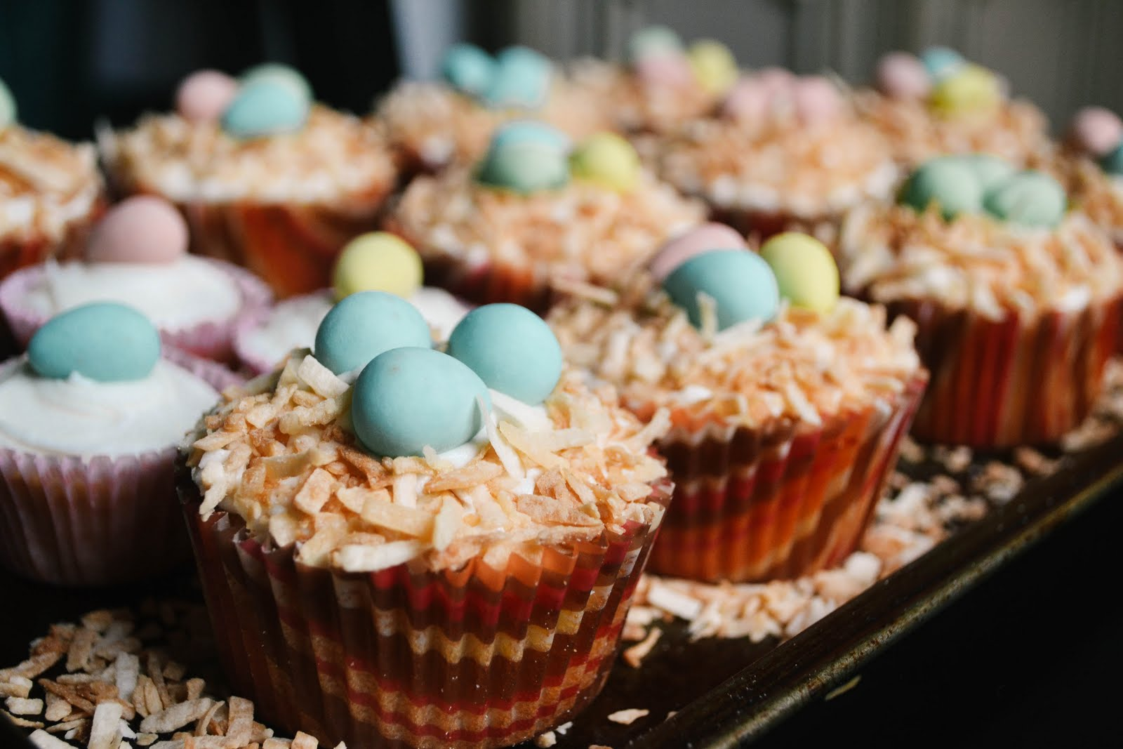 easter egg bird s nest cupcakes materials cupcakes doesn t matter what ...