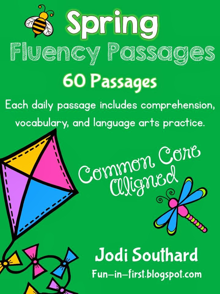 http://www.teacherspayteachers.com/Product/Spring-Fluency-Packet-203731