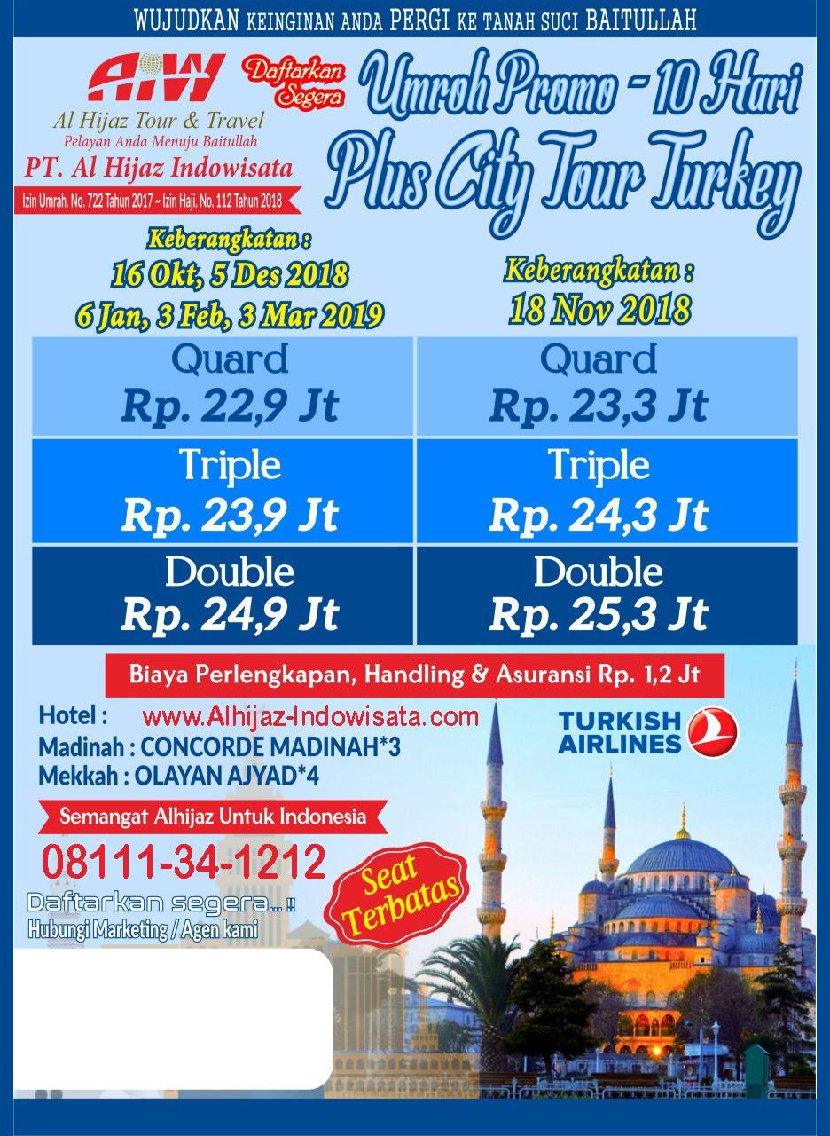 UMROH TOUR TURKI