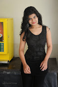 Alekya Photos in Black at Aa Aiduguru Press meet-thumbnail-1