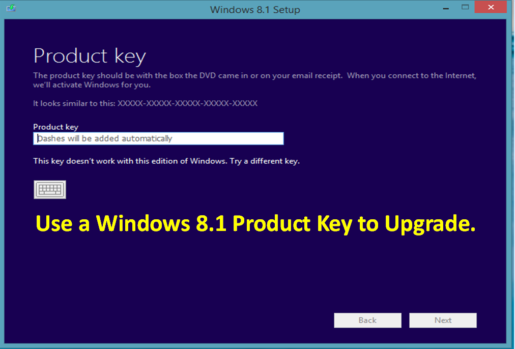 activation key of windows 8.1