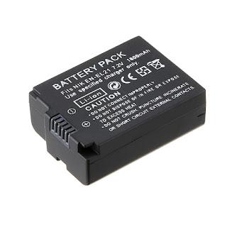 New 7.2v 1800mAh EN-EL21 ENEL21 Li-ion Battery For Nikon 1 V2 Digital Camera