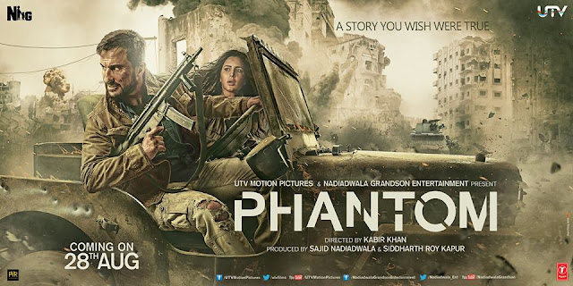 Phantom Releasing Date, Trailer