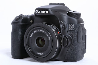 Canon EOS 70D with Canon EF 40mm f/2.8 STM pancake lens by Chad Soriano