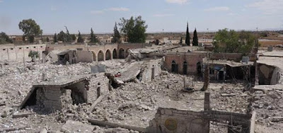 تفجير سجن تدمر الذي أذاق السوريين الويلات وتحويله لركام