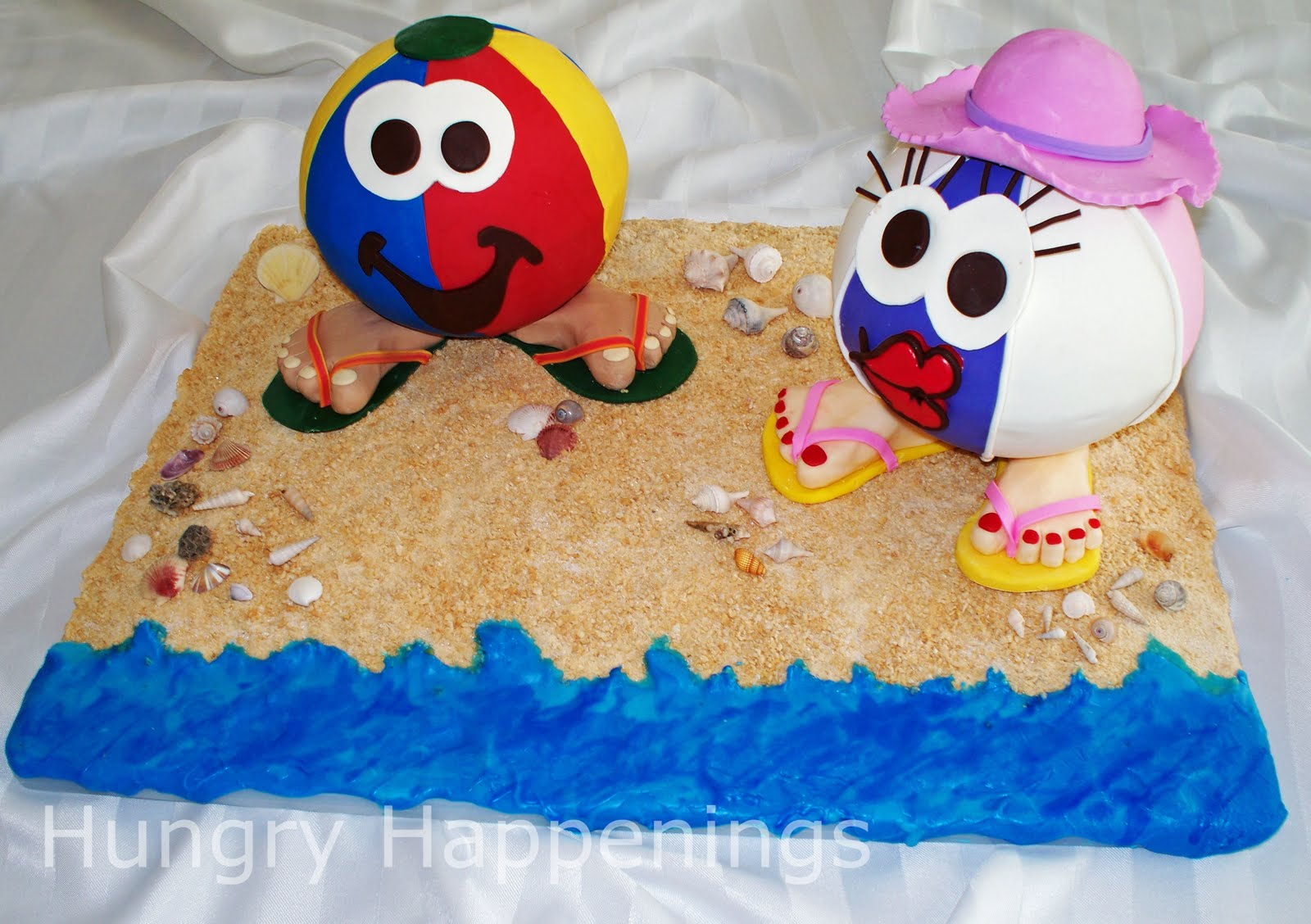Fruit Pizza Beach Ball Fun Beach Themed Summer Recipes
