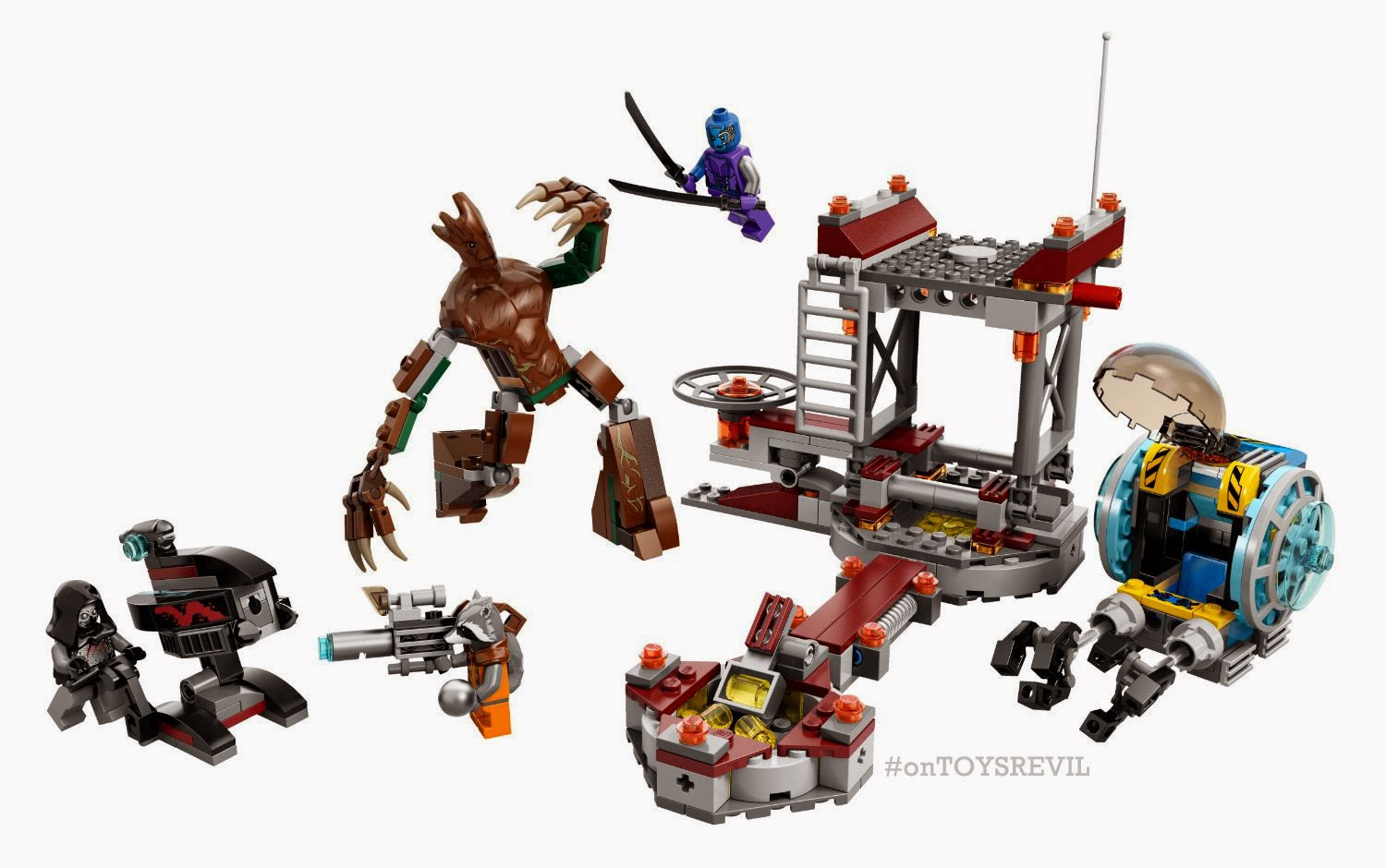 ToyLab Guardians of the Galaxy Lego sets now at Target