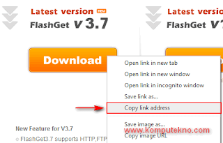 Cara Download dengan Flashget - 4
