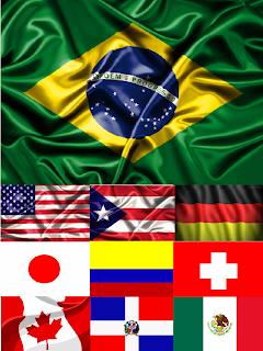 Países que nos Visitam atravéz do Blog