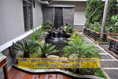 Tukang Taman Surabaya Kolam konsep indoor