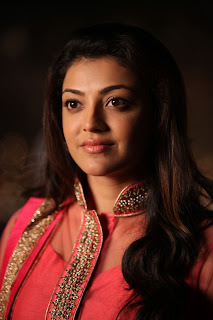 Actress Kajal Agarwal Latest Pictures in Pink Long Dress in Sarocharu Movie  0001