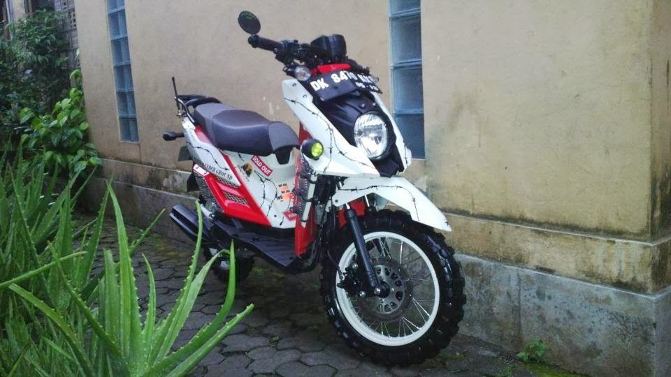 modifikasi x ride terbaru