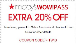 Macy's coupons september 2019