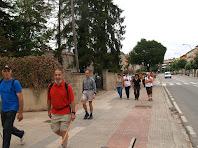 Davant la Plaça del Moianès